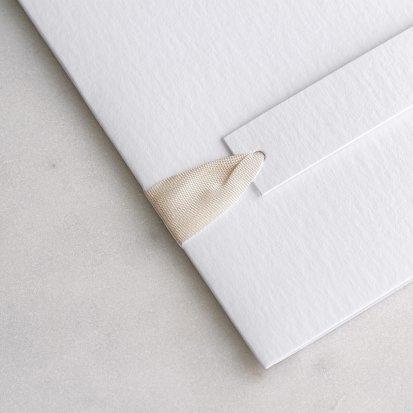 Ruban vintage ivoire 60 cm