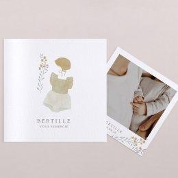 Layette fleurie