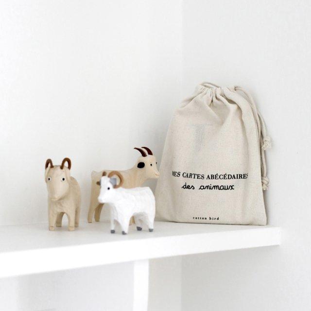 Cartes abécédaires des animaux